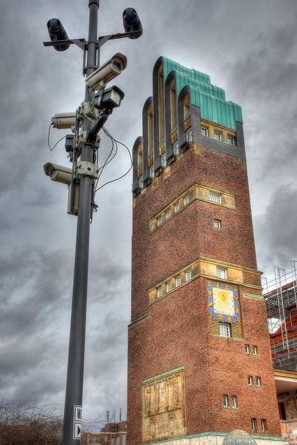 Überwachung in Darmstadt (Joachim S. Müller)